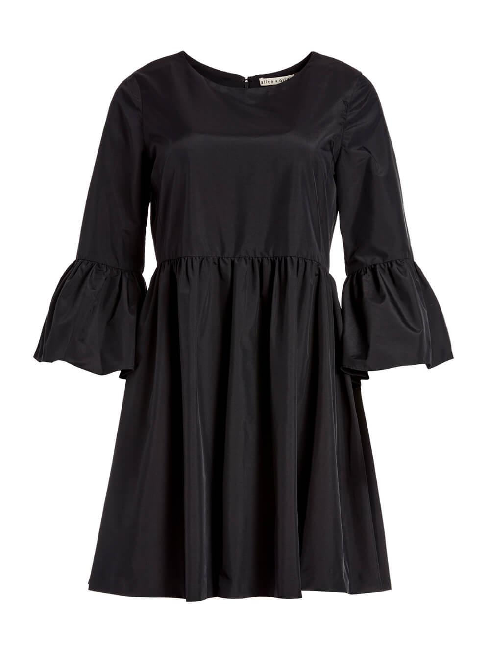 Aislyn Flutter Sleeve Dress