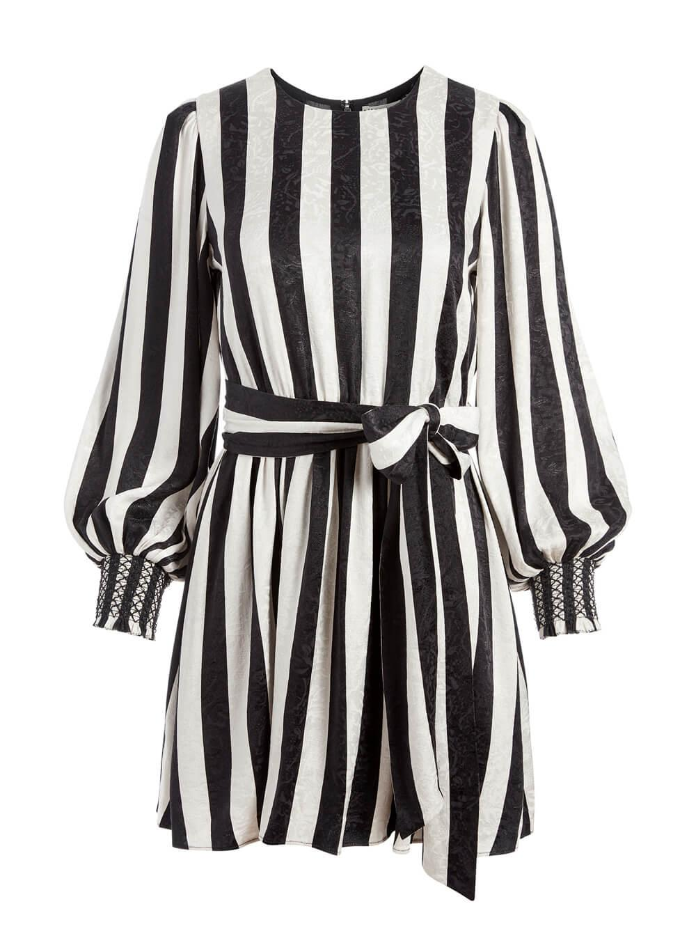 Estefana Striped Dress Item # CC008P27509