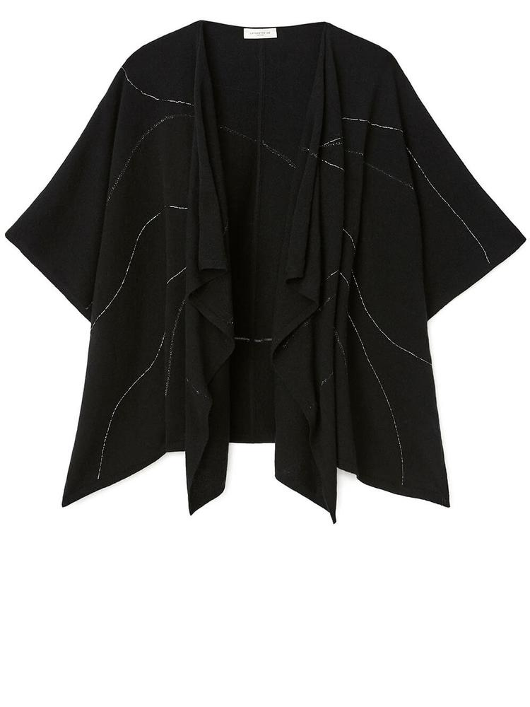 Cashmere Embroidered Wrap Item # A1860-KNTY