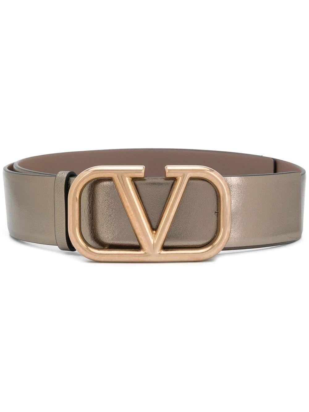 V- Logo 40mm Belt Item # UW2T0S11VLH