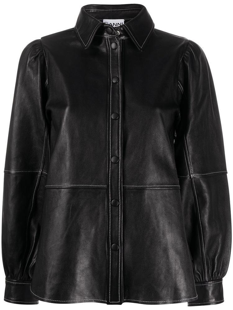 Lamb Leather Blouse Item # F5198