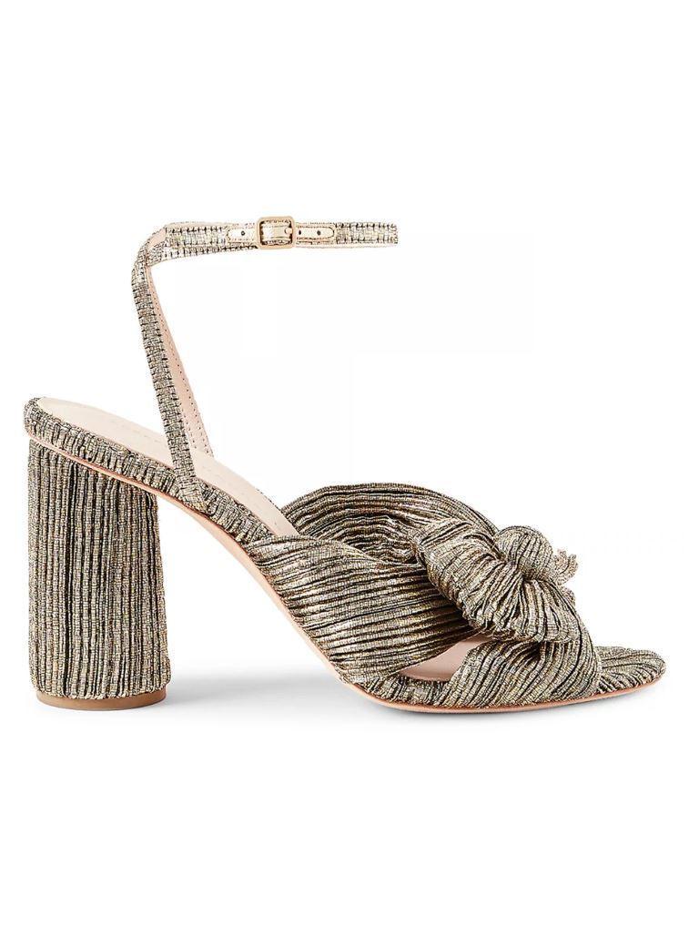 Camellia Knot Sandal