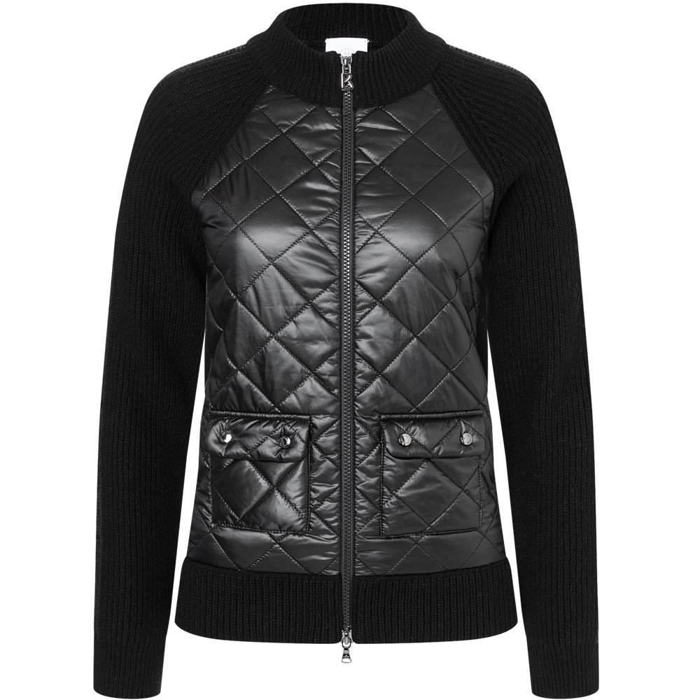 Amelia Knit Quilted Jacket
