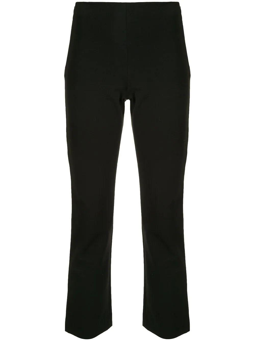High Waist Crop Flare Pants