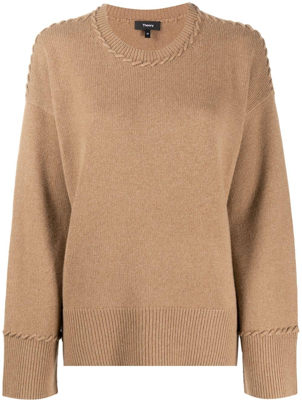 Karenia Oversized Cashmere Sweater Item # K0818705