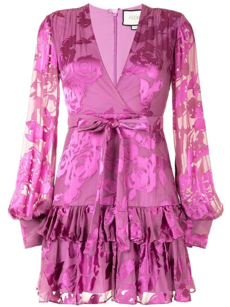 Emma Floral Burnout Dress