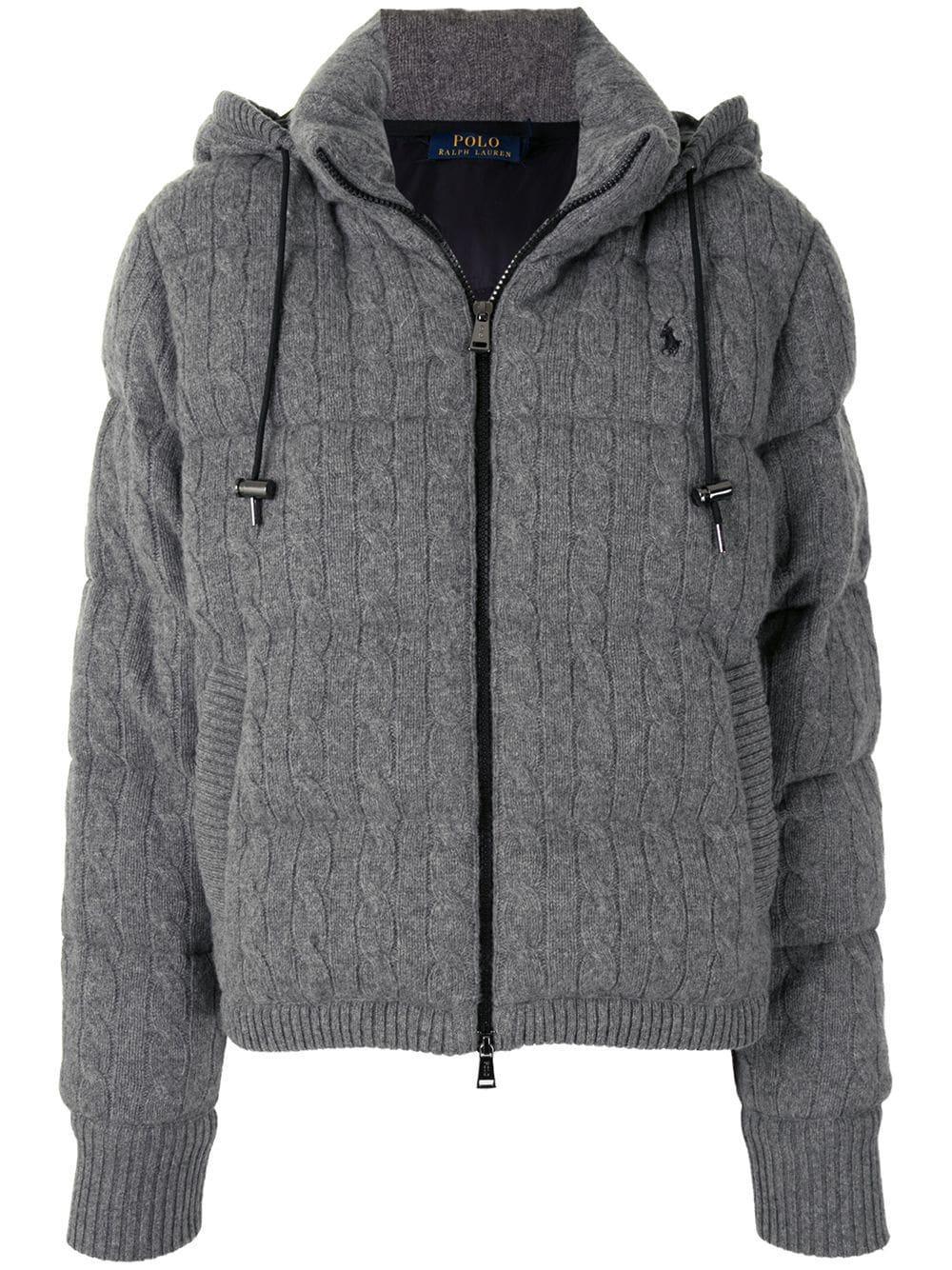 Cashmere Puffer Coat