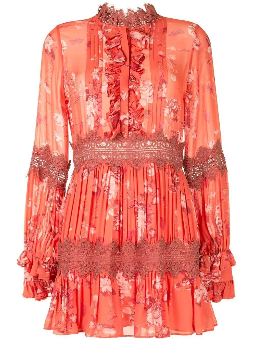 Beaumont Floral Dress Item # BEAUMONT