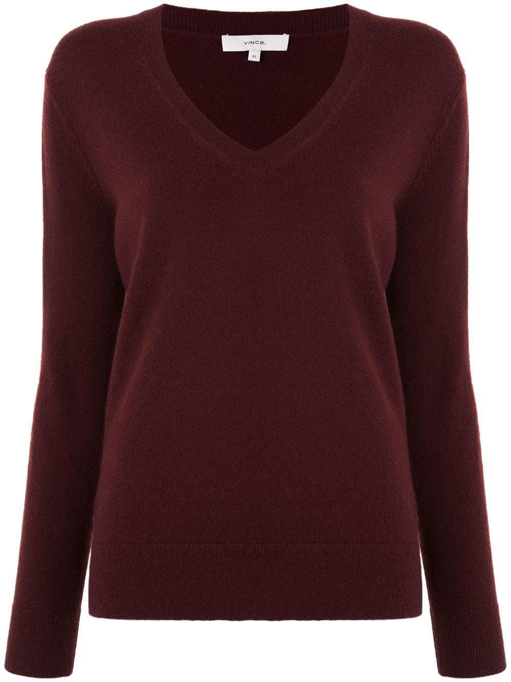 Weekend V- Neck Sweater Item # V695678133