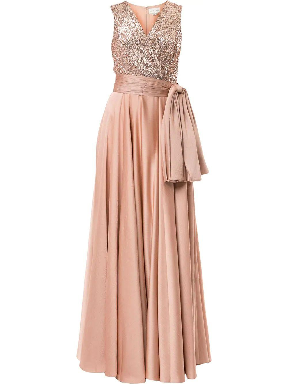 Emme Sequin Bodice Gown