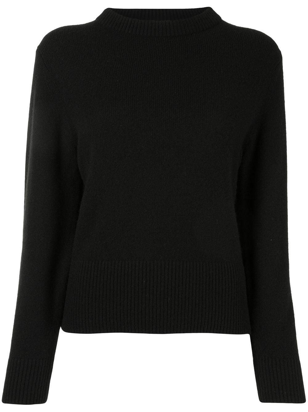 Drop Shoulder Mock Neck Sweater