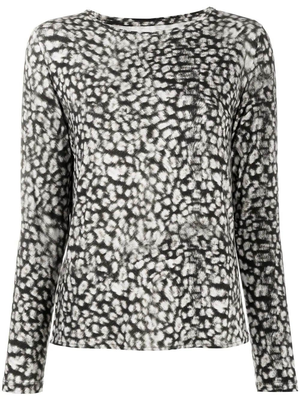 Soft Touch Animal Print Top