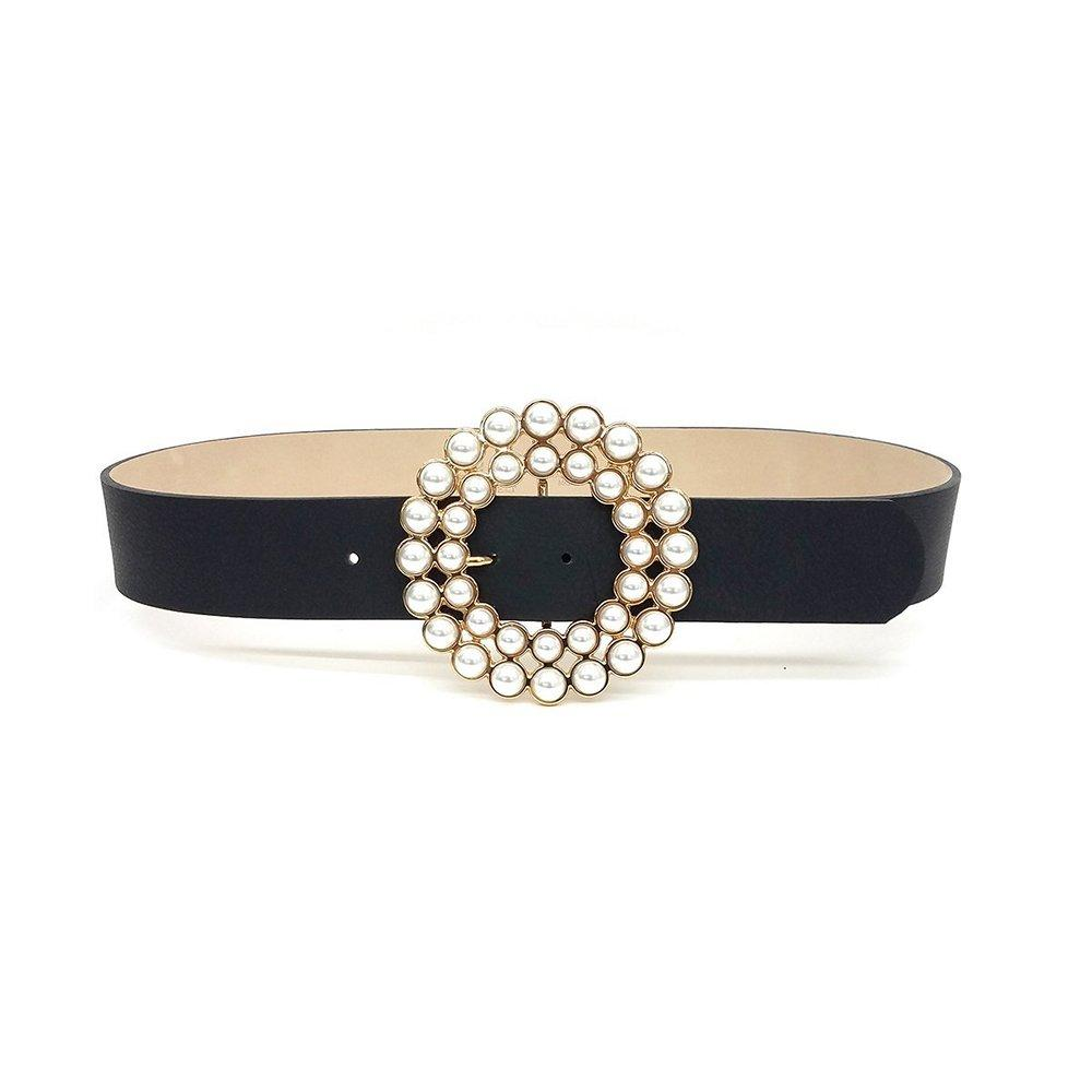 Antonia Crystal Buckle Belt