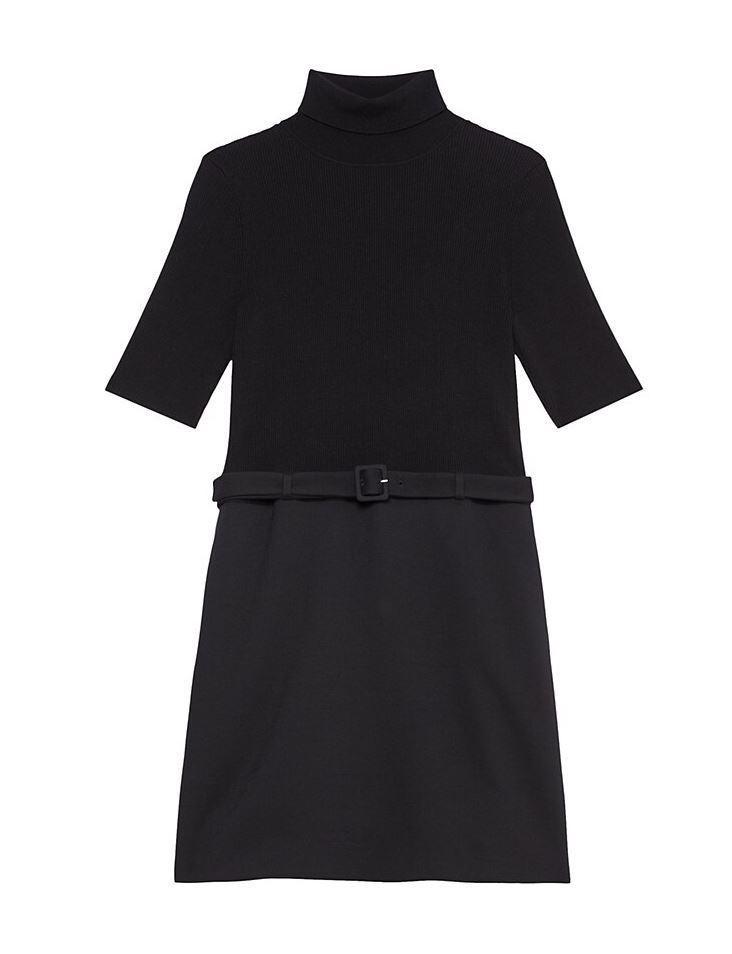 Knit Combo Dress