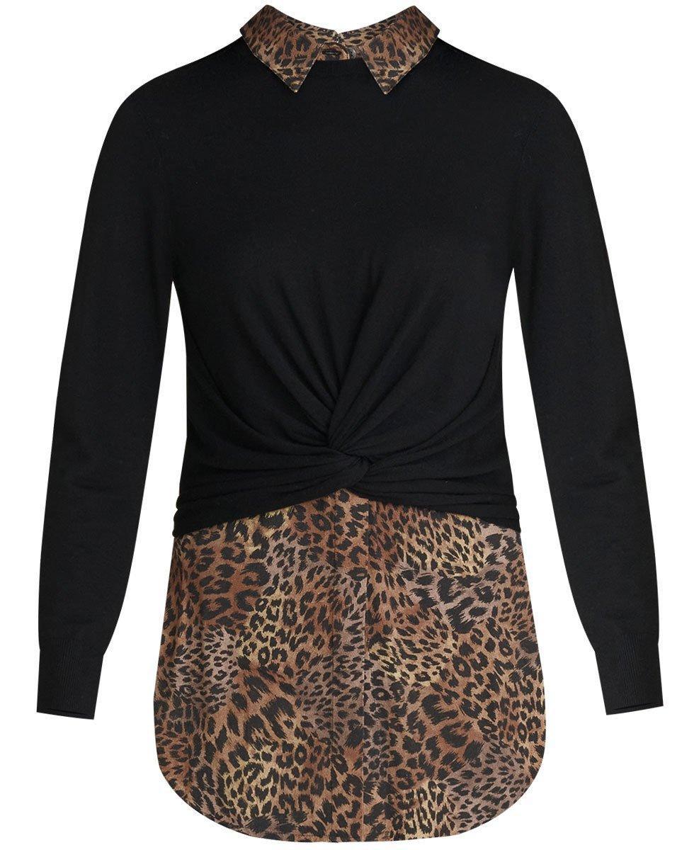 Phebe Mixed Media Sweater Item # 2009KN0879332