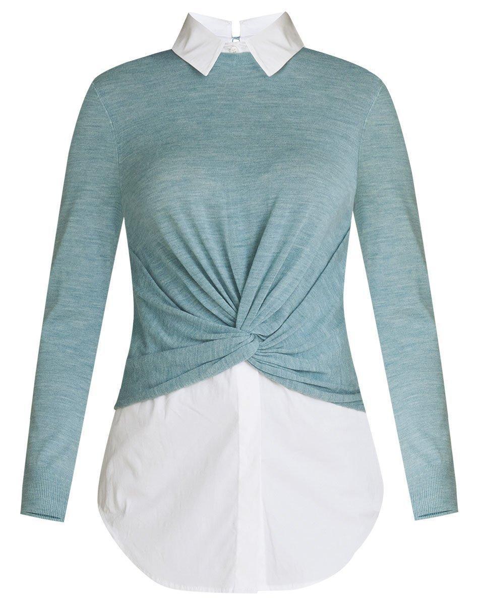 Phebe Mixed Media Sweater