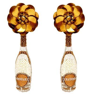 Prosecco Bottle Earrings