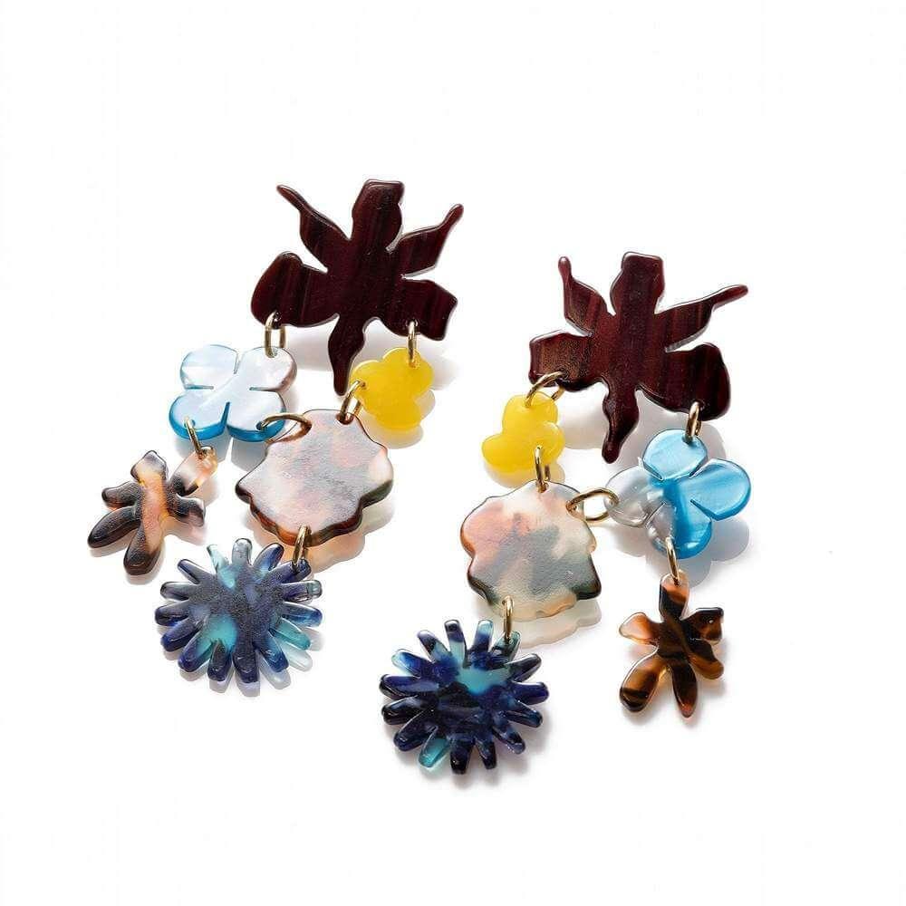 Wildflower Bouquet Earrings Item # LS0986CI