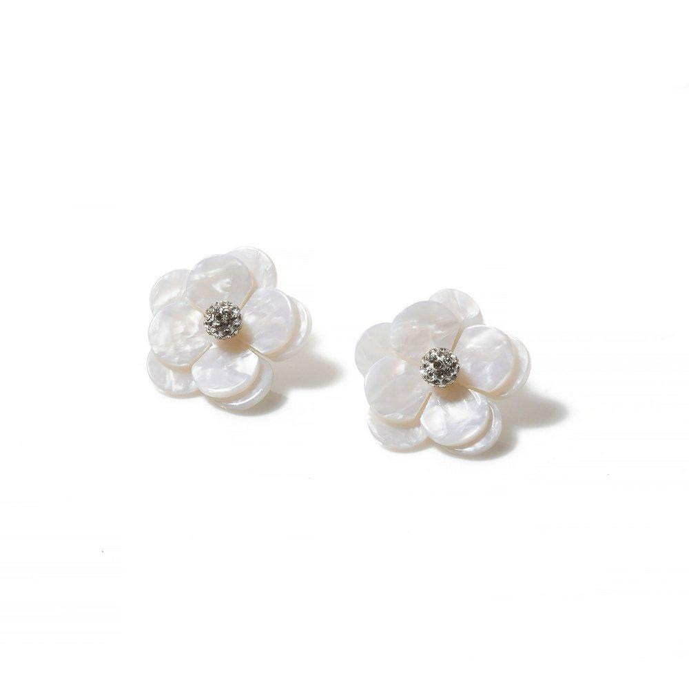 Poppy Button Earrings Item # LS0987MP