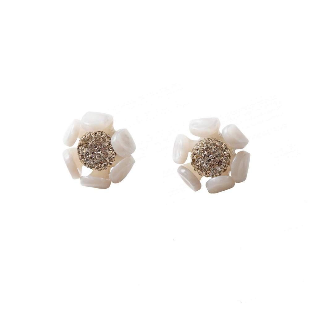 Buttercup Button Earrings Item # LS1001MP