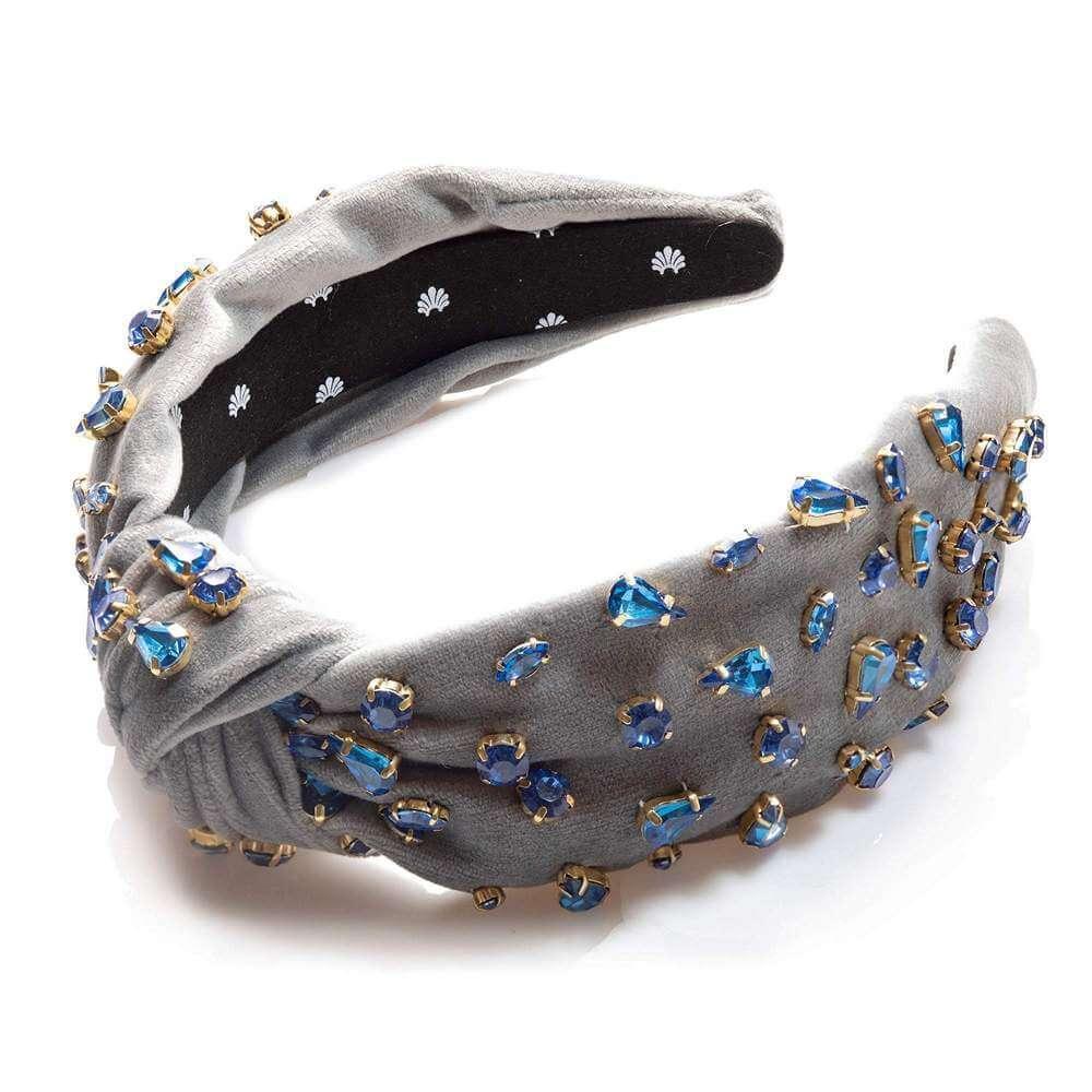 Knotted Candy Jewel Headband Item # LSHA159GR