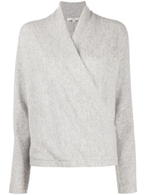 Wrap Front Sweater Item # V696478343