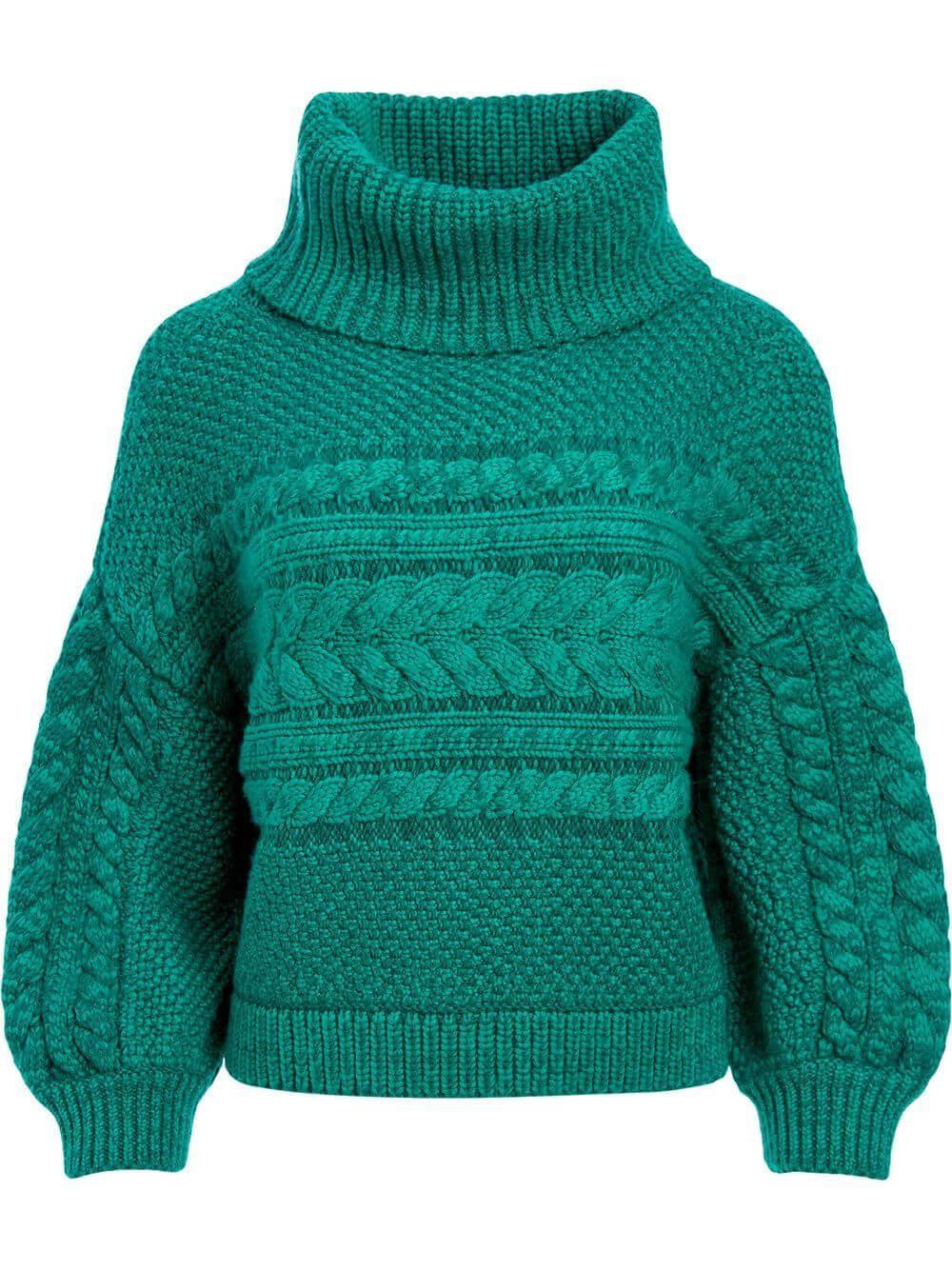 Franchie Turtleneck Sweater Item # CC009S36707