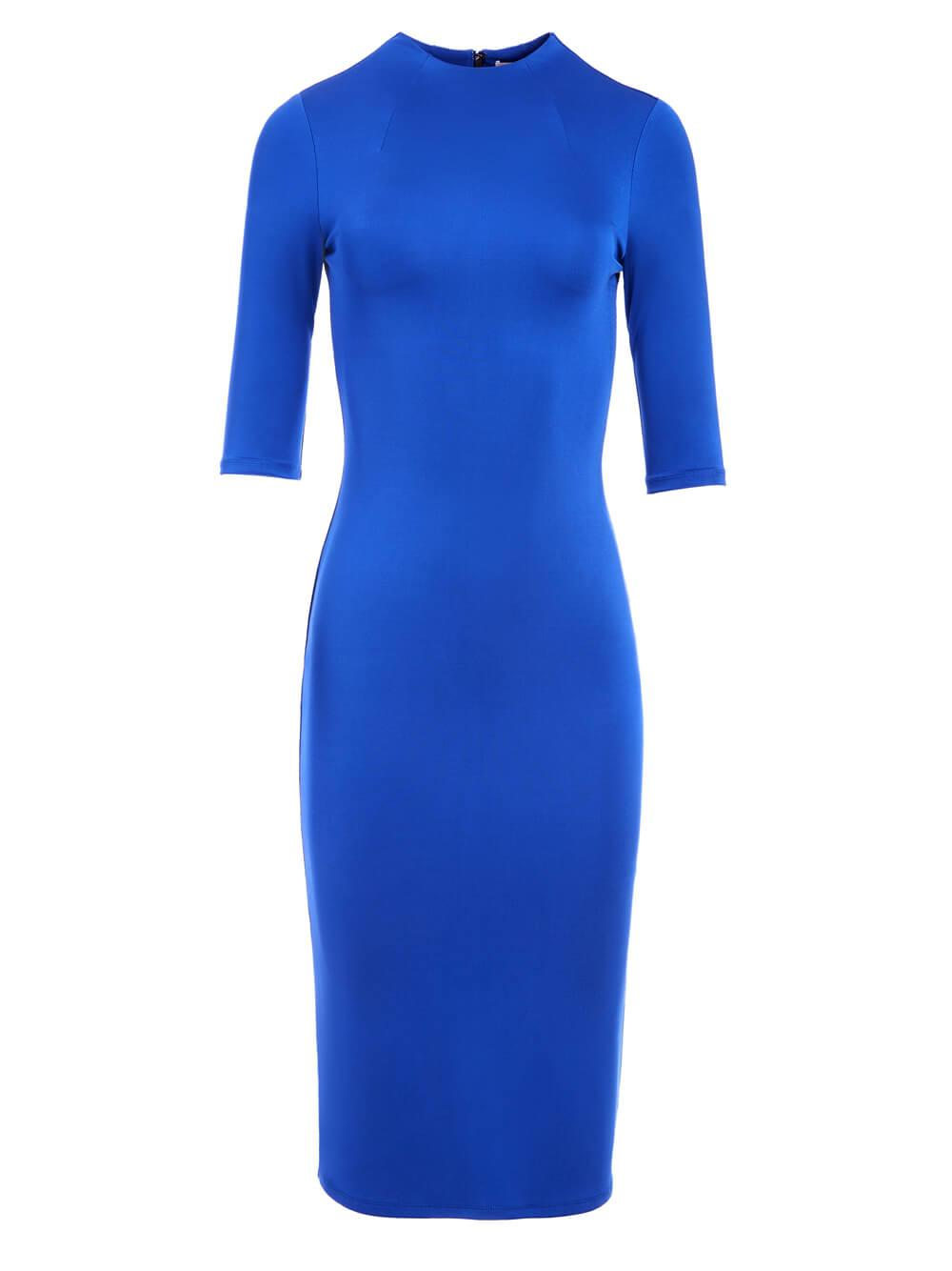 Delora Mock Neck Dress