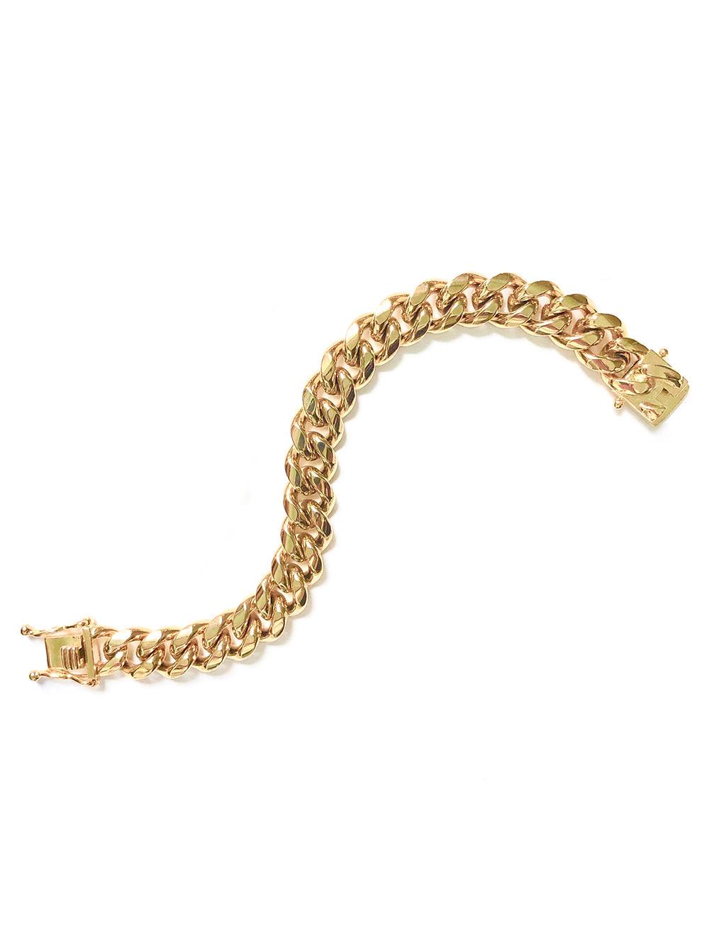 Ruth Curb Chain Bracelet 12mm Item # FB24302