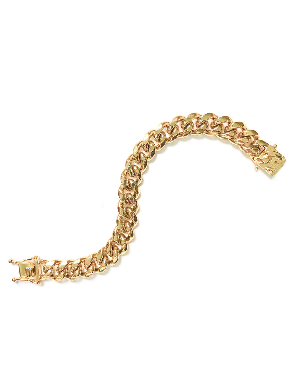 Ruth Curb Chain Bracelet 12mm