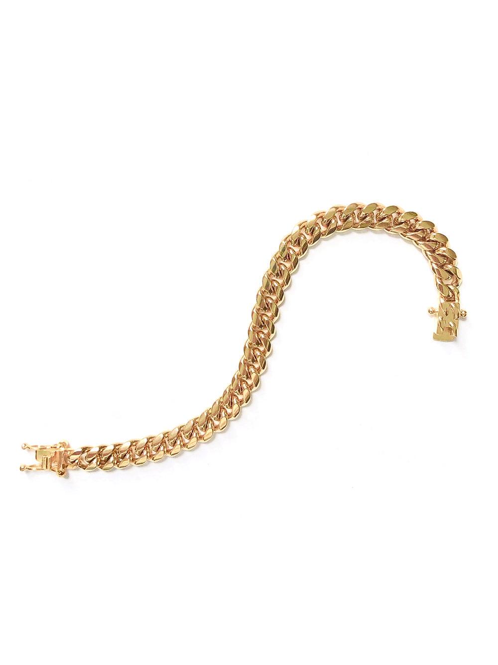 Ruth Curb Chain Bracelet 8mm Item # FB24303