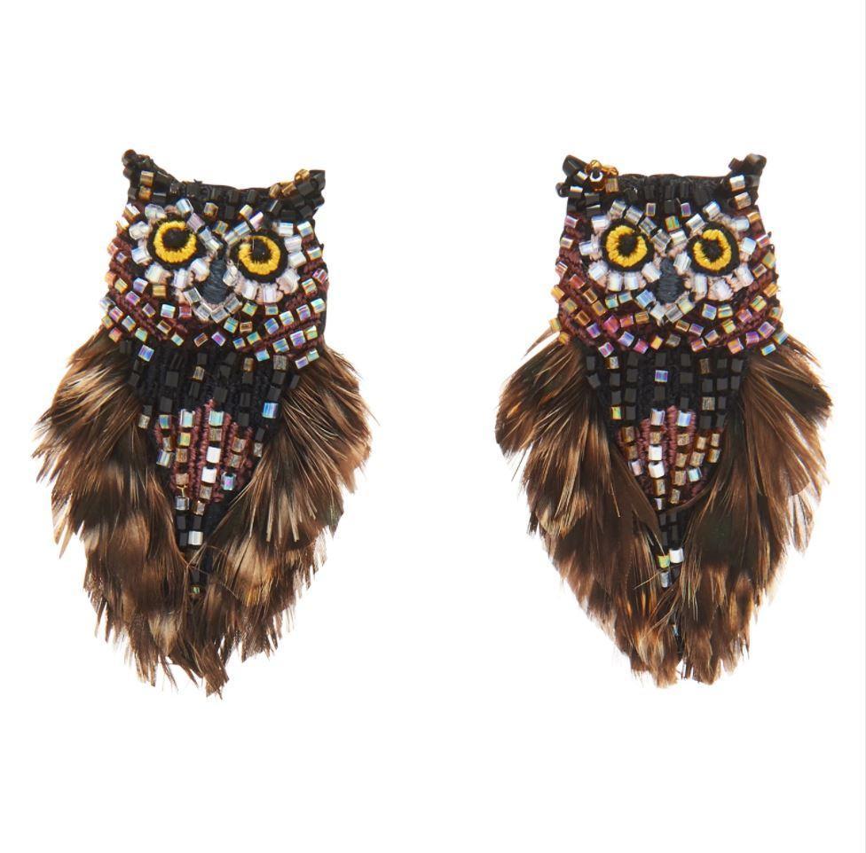 Mini Owl Earrings Item # E149-200