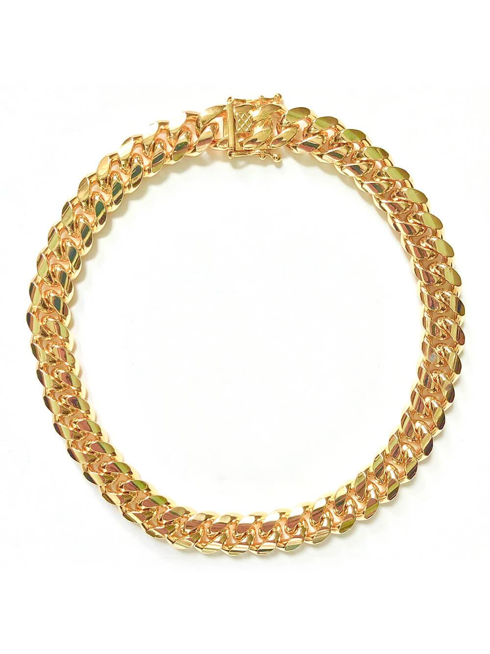 Ruth Curb Chain Collar Necklace Item # FN24301