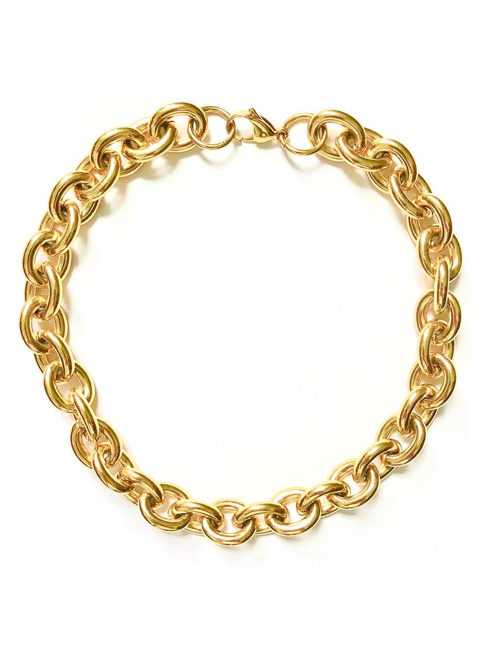 Alexandria Rolo Chain Necklace Item # FN24304