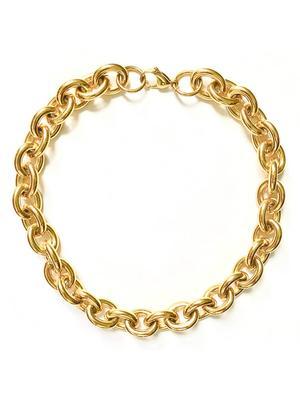 Alexandria Rolo Chain Necklace
