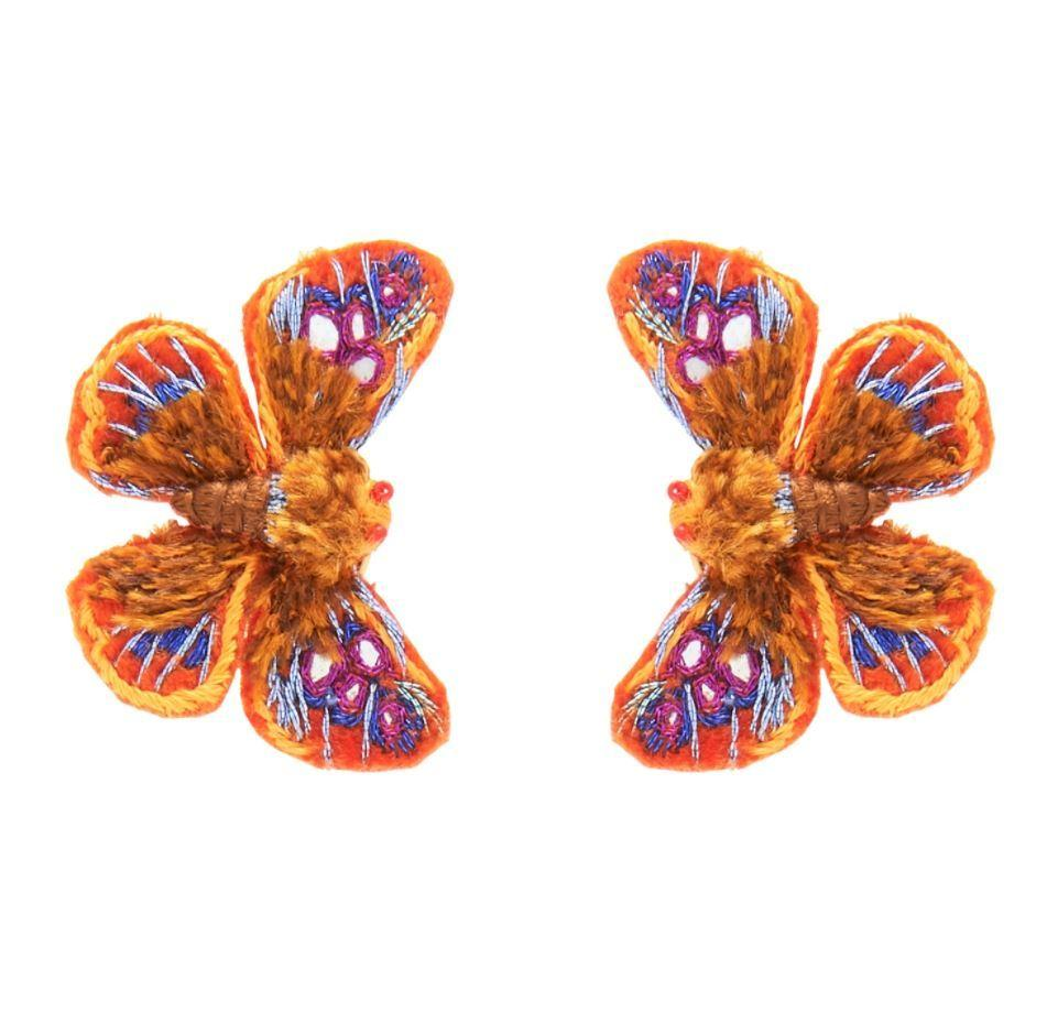 Vive Butterfly Stud Earring