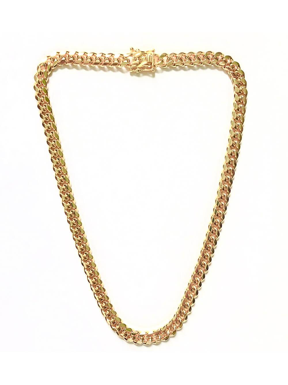 Ruth Curb Chain Necklace Item # FN24303