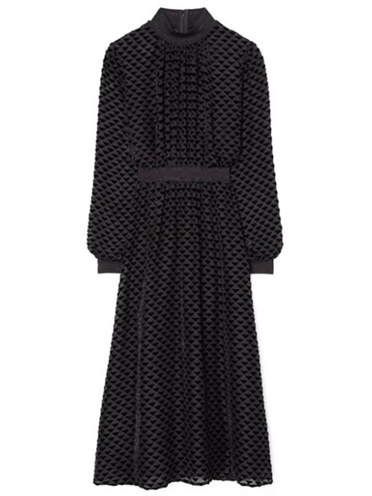 Devore Velvet Dress Item # 62152-891