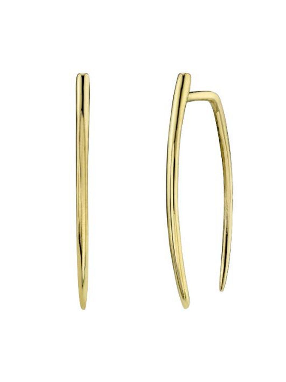 Large Infinite Tusk Earrings