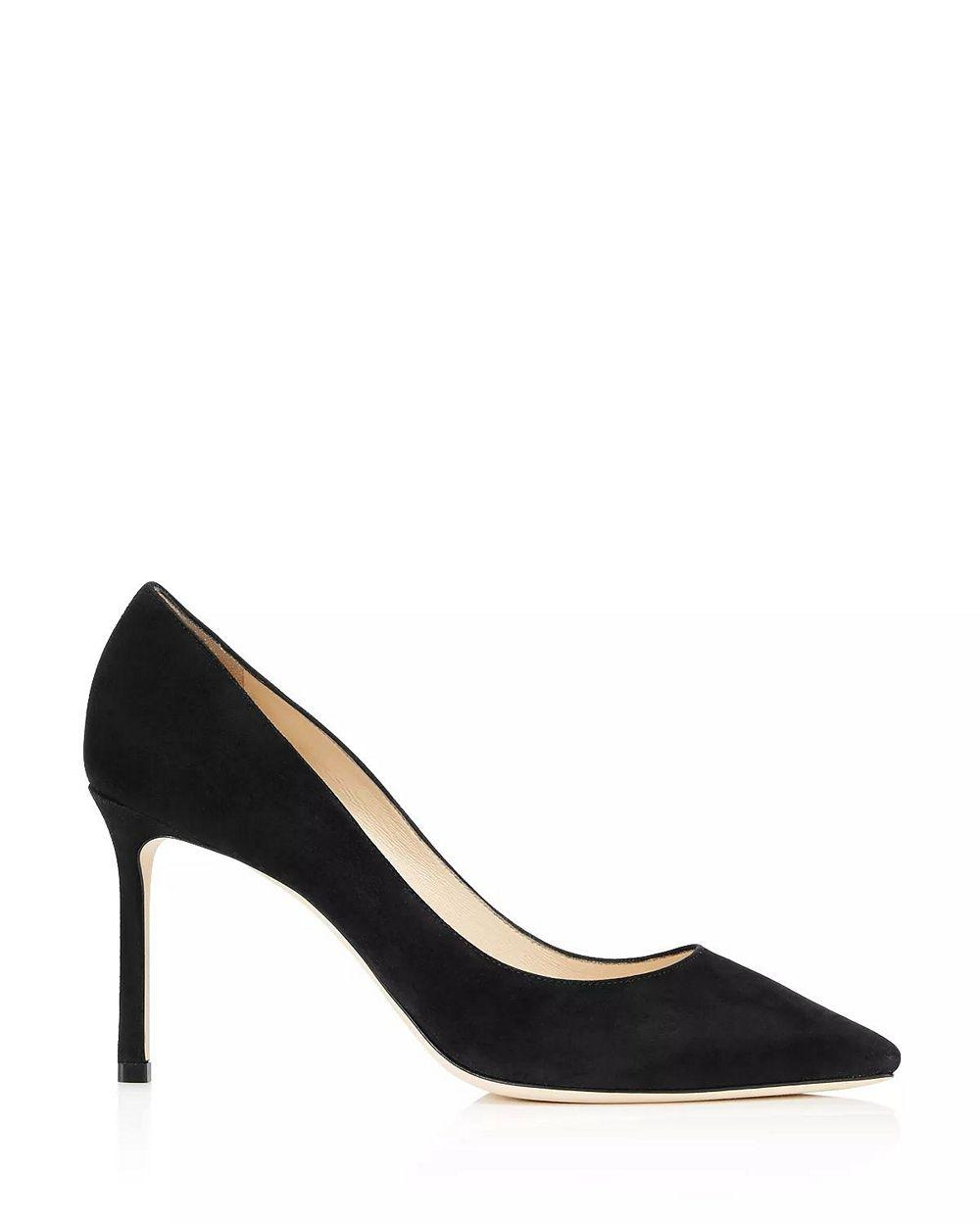 Romy 85mm Suede Pump