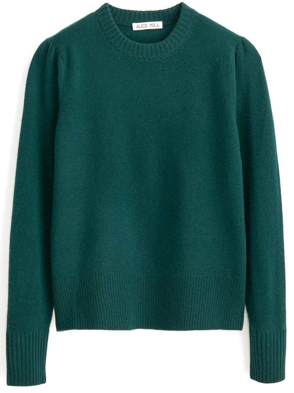 Claire Wool Cashmere Sweater Item # 207-WW037-2036