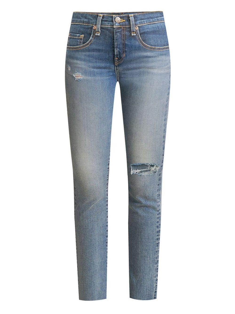 Ryleigh Distressed Straight Jean Item # J20080720642DS