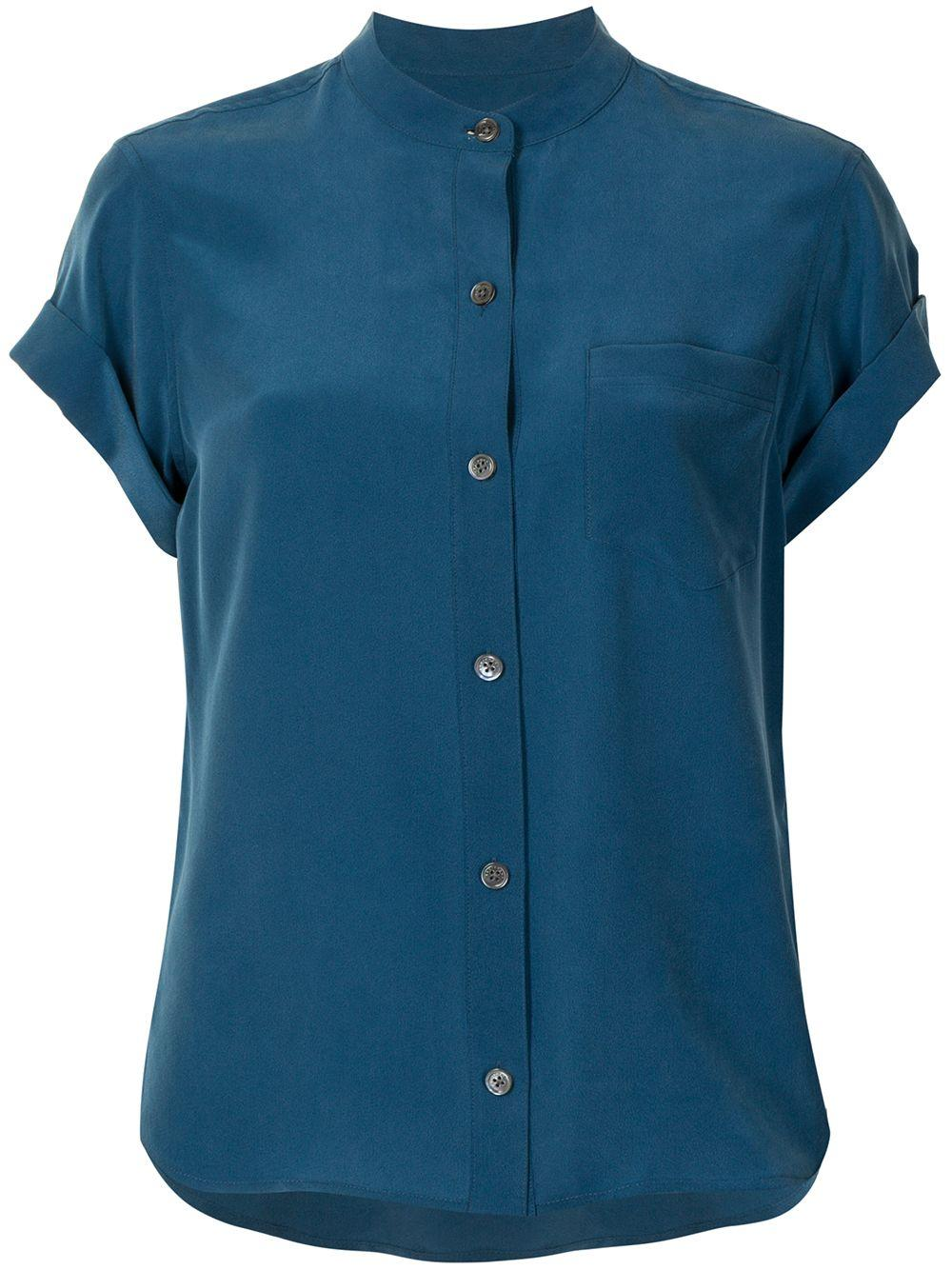 Narses Roll Sleeve Top