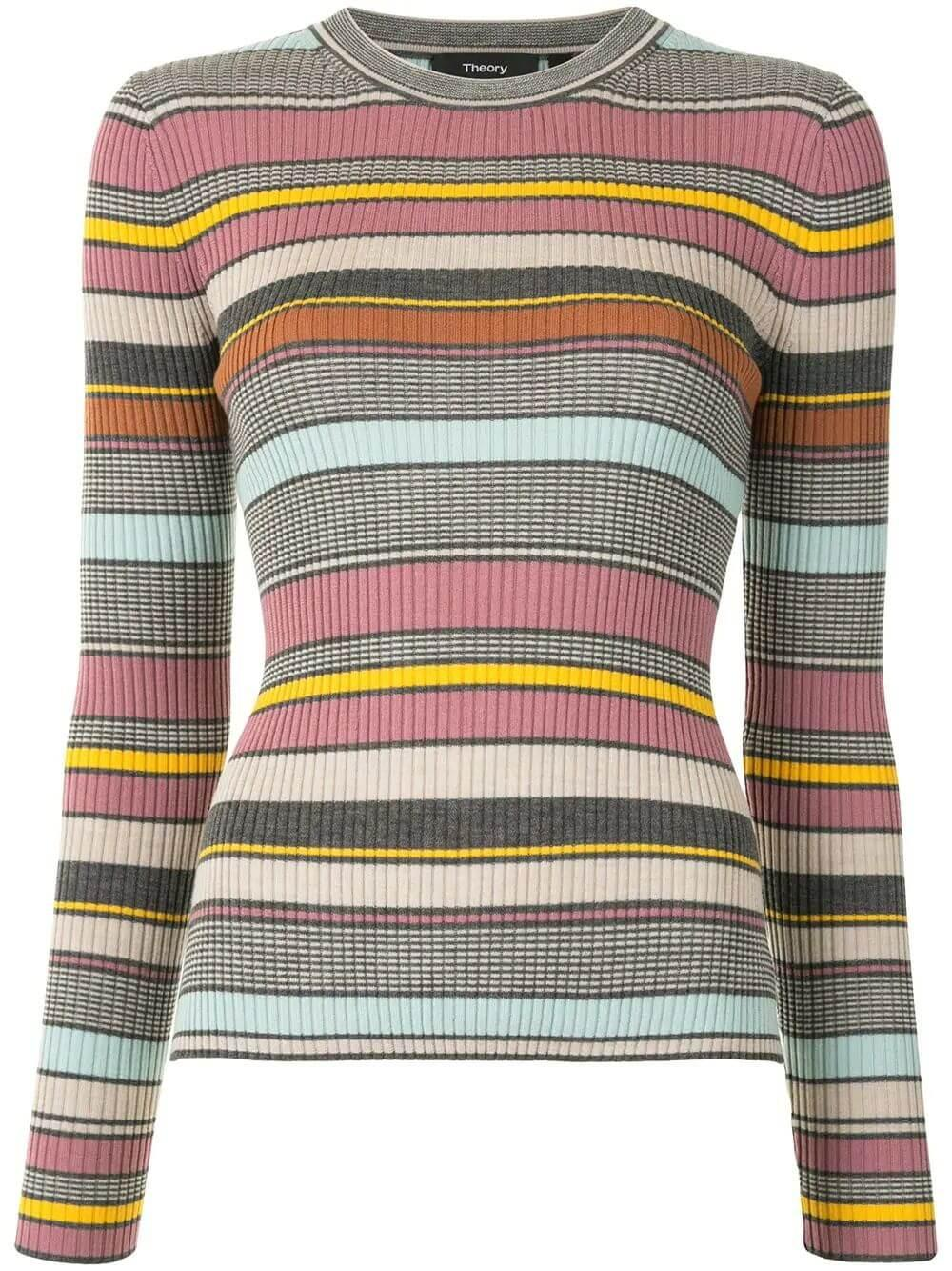 Regal Stripe Sweater Item # K0811715