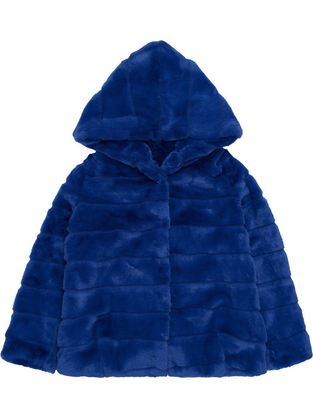 Goldie Faux Fur Hooded Jacket Item # F20128TB
