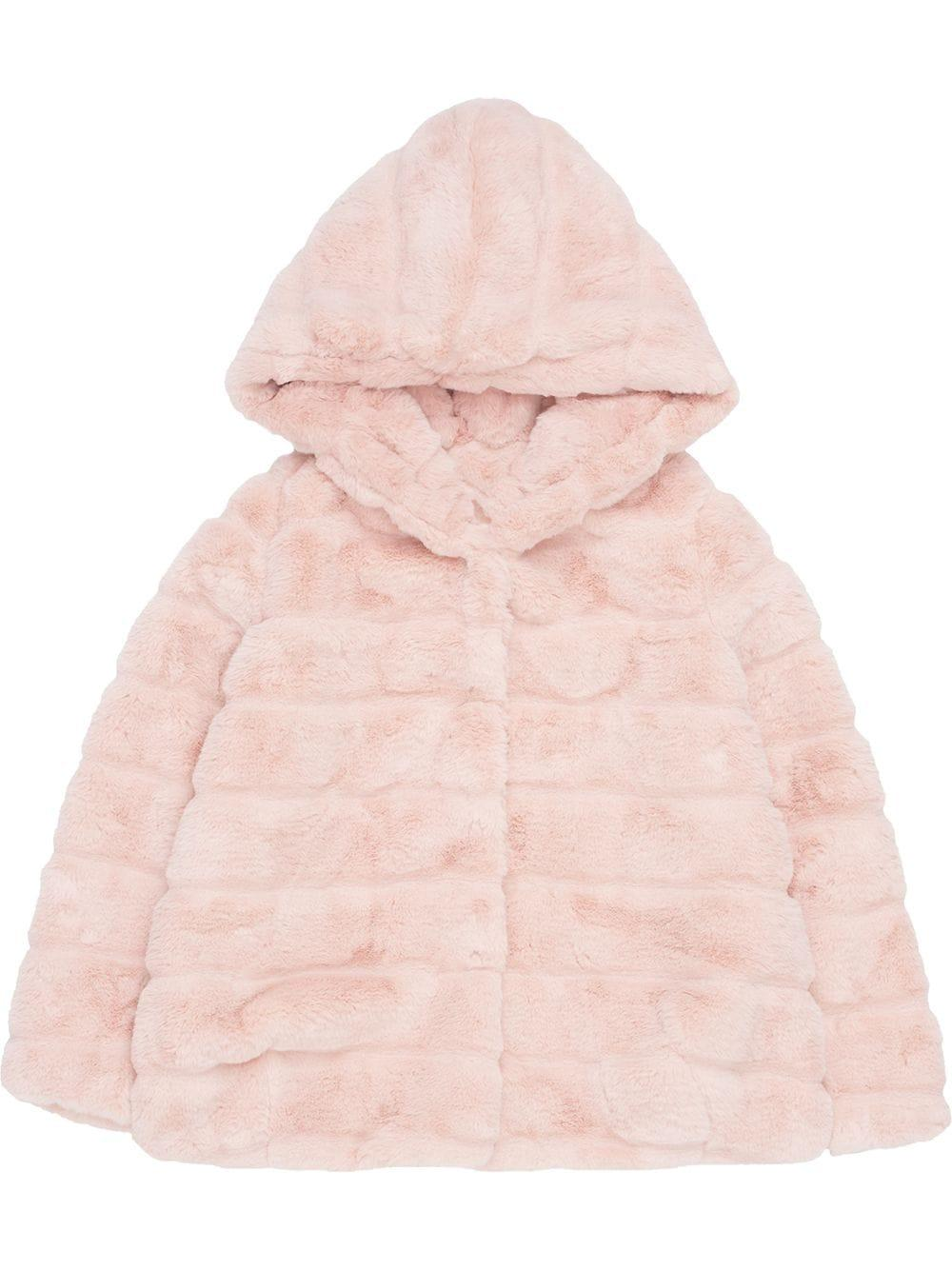 Goldie Faux Fur Hooded Jacket