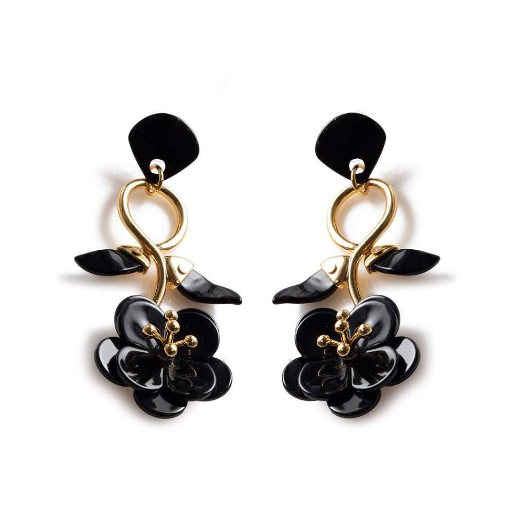 Floral Vine Earrings Item # LS0985JT