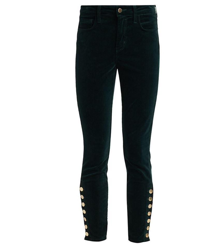 Piper Velvet Skinny Jean