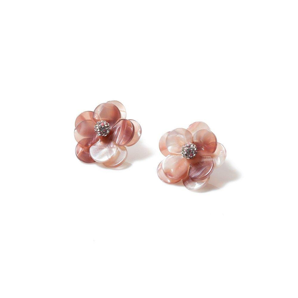 Poppy Button Earrings Item # LS0987MV
