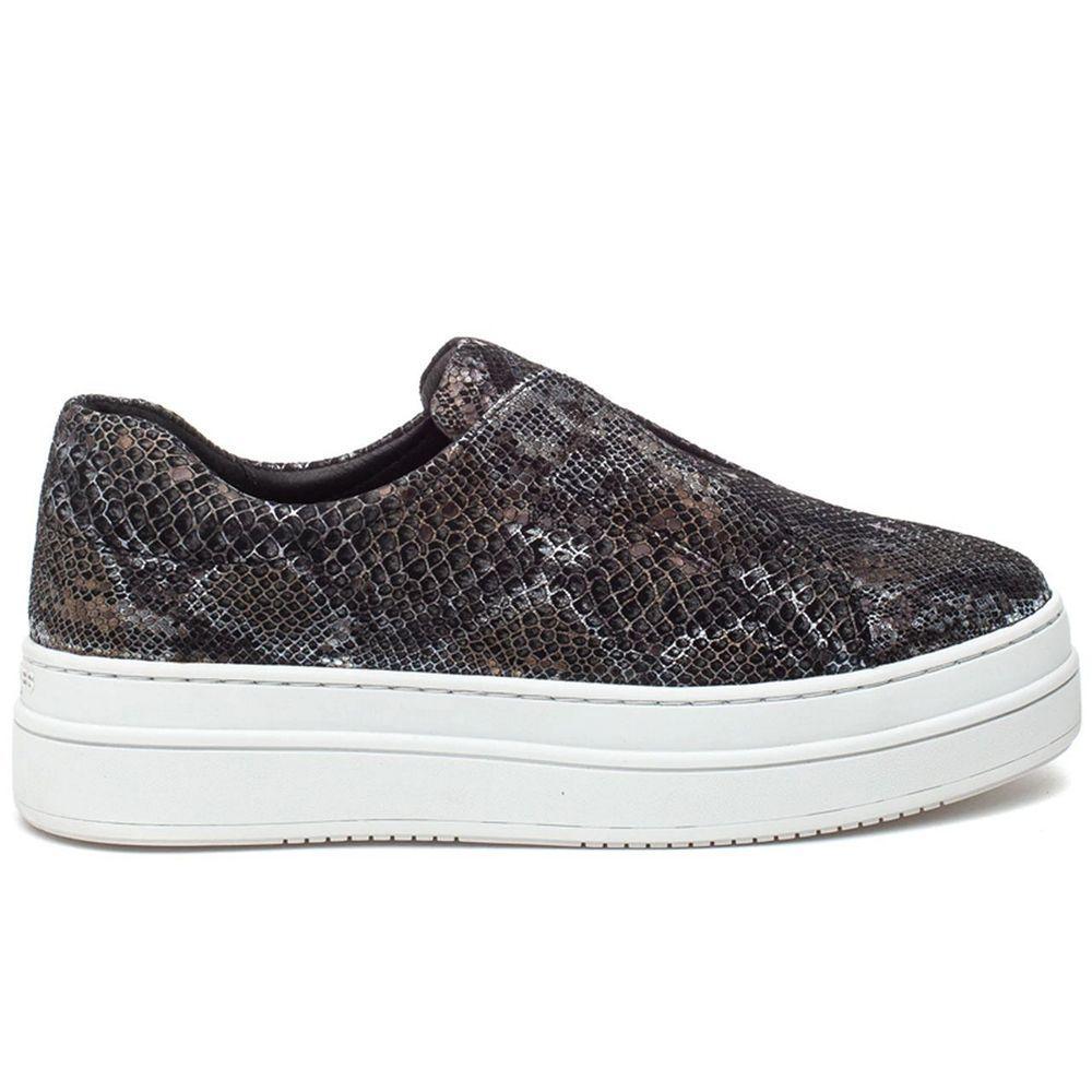 Noel Snake Embossed Sneaker Item # 120AL0407
